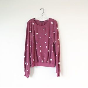 WILDFOX • star and moon pullover